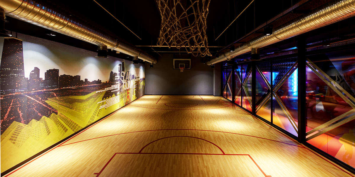 Metromall - Basketbol Sahası